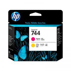 Cabezal de impresión HP 744 magenta & amarillo F9J87A