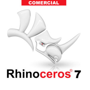 Rhino 7 software modelado 3d