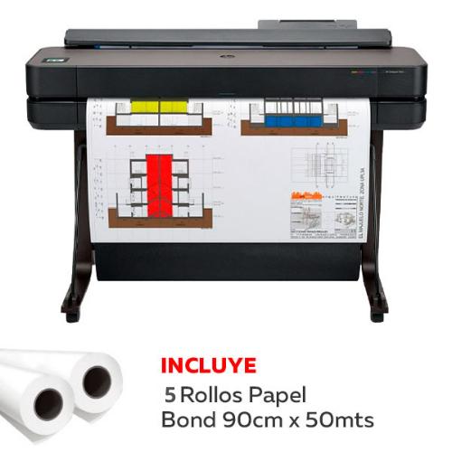 Plotter HP Designjet T650 36″-5HB10A